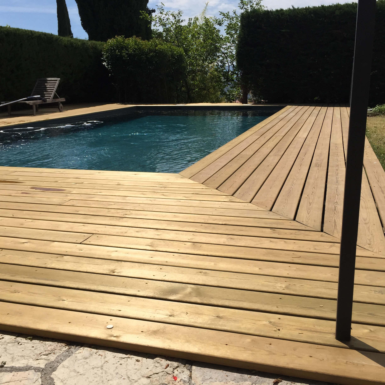 Création terrasse et piscine - Espaces Modernes