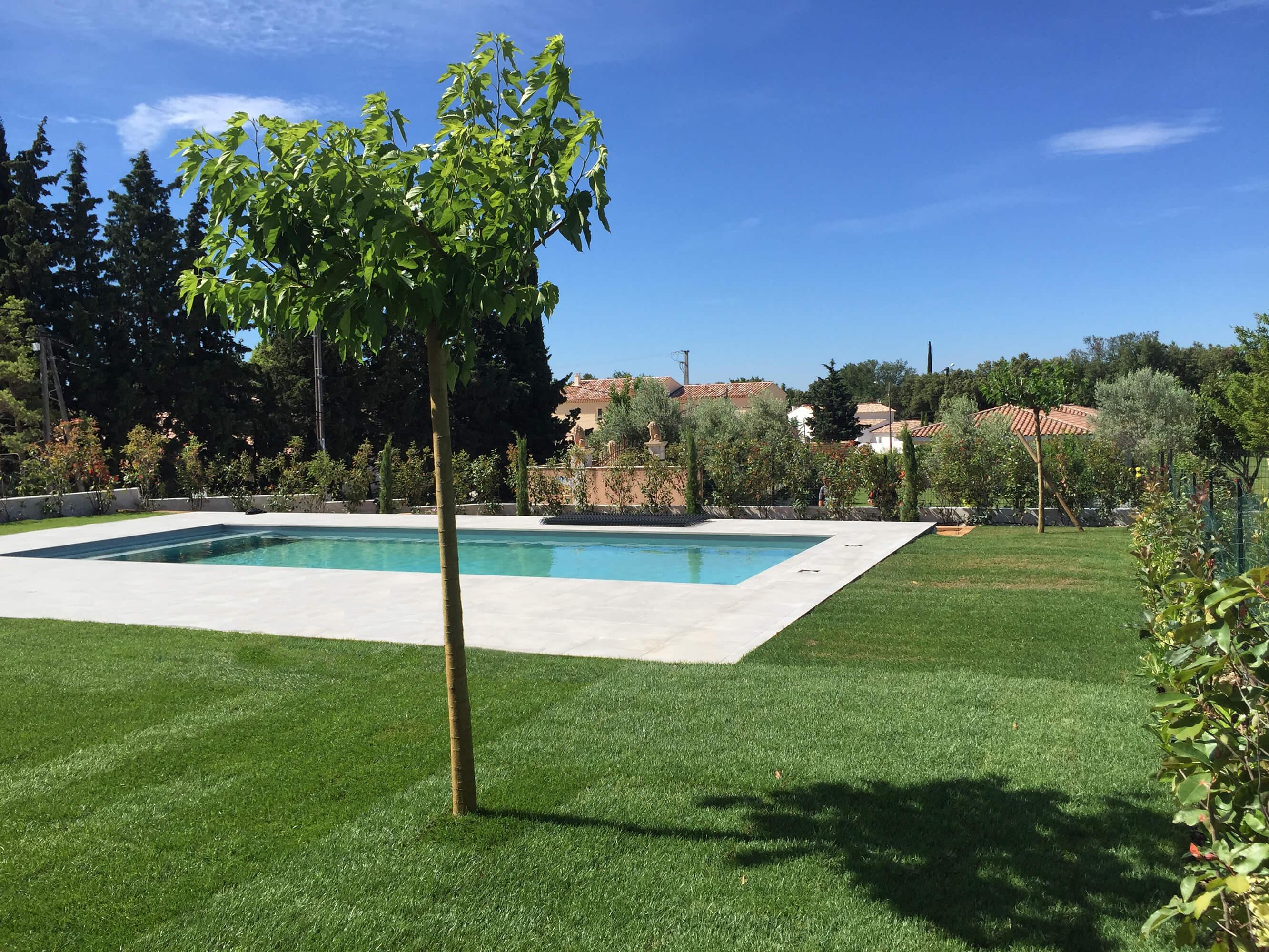 Création paysage - Espaces Modernes Aix en Provence