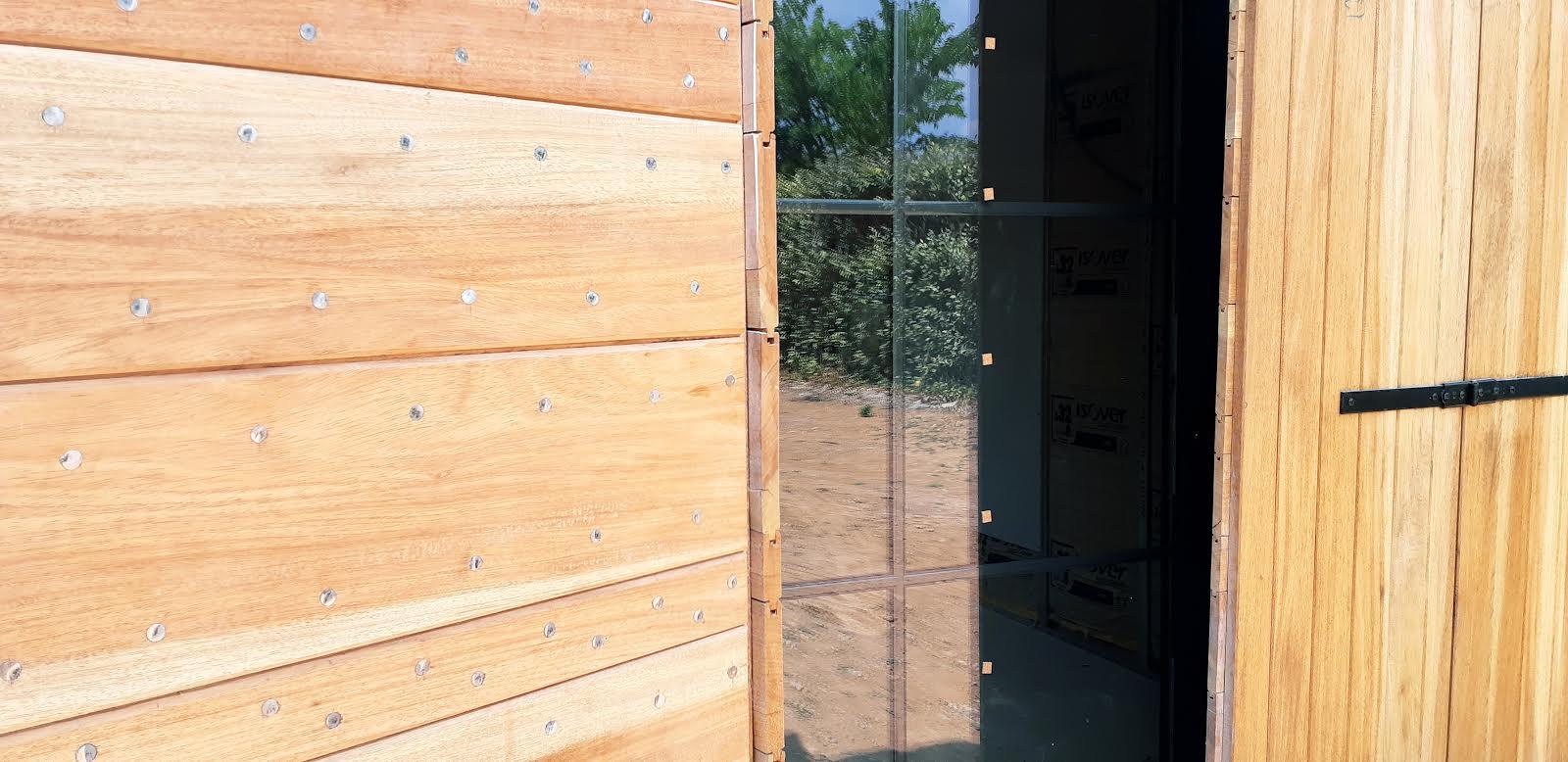 volet - bureau en construction - Espaces Modernes -Puyricard