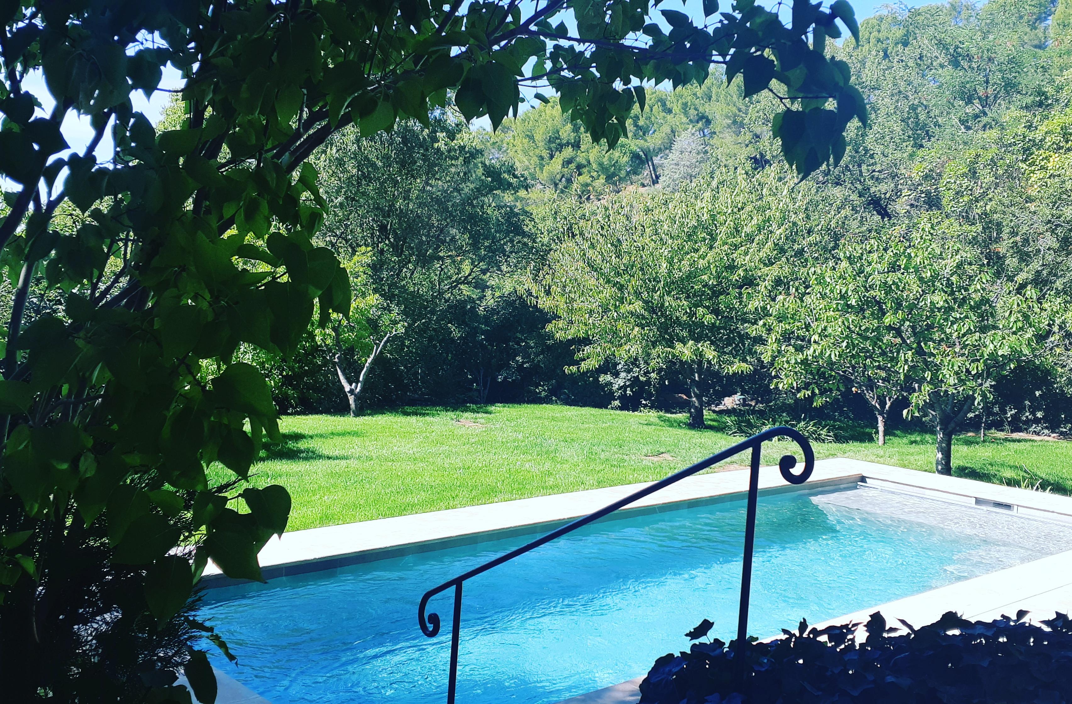 Construction d'une piscine à Aix en Provence